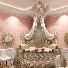 This is a Bedroom Interior Design Ideas. House is a private bedroom and is usually hidden from our guests. However, it is important to her, not only for comfort but also style. Much of our bedroom … Pink Bedrooms, Girls Bedroom, Bedroom Decor, Bedroom Ideas, Bedroom Designs, Nursery Ideas, Bedroom Furniture, Furniture Ideas, Dream Rooms