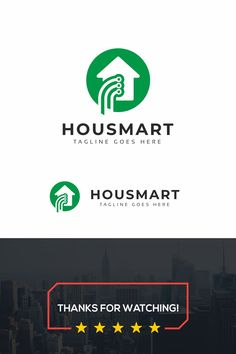 Smart Tech Home Logo: multifunctional logo that can be used in technological companies, in companies and applications for software development, construction Data Logo, Alarm Systems For Home, Home Security Tips, Real Estate Logo, Open Window, Home Logo, Entertainment System, Common Sense, Cool Items