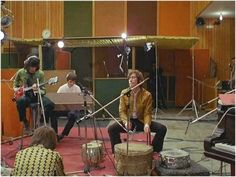 Rolling Stones at Olympic Studios, 1968
