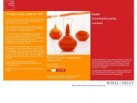 Oranjevaasje.com - Oranjevaasje - Koninklijk Koper - Royal Leerdam Crystal