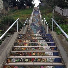 The 16th Avenue Tiled Steps Project - Inner Sunset - San Francisco, CA