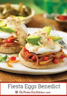 Fiesta Eggs Benedict