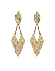 Tribal Mini Leaf Layered Earrings