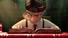 The Fantastic Flying Books of Mr. Morris Lessmore est une animation réalisée par William Joyce (un ancien de Pixar) et Brandon Oldenburg pour MoonBot Studios...