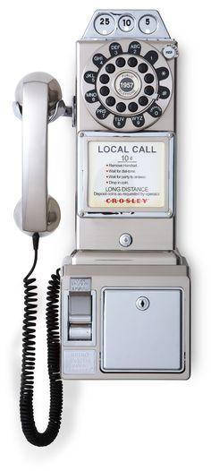 Pay phone ... Crosley CR56