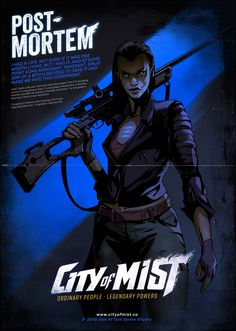 City of Mist illustrations on Behance