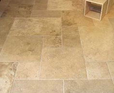 Walls, Floors, and More : travertine tile
