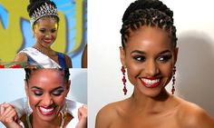 Dr. Sanneta Myrie 24 years old. A medical doctor. Crowned Miss Jamaica World 2015. Beauty and brains.