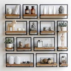 16 Impressive Wall Decorating Ideas For Living Room Home Living Room, Living Room Decor, Living Spaces, Interior Styling, Interior Decorating, Interior Design, Decorating Ideas, Decor Ideas, Muebles Living