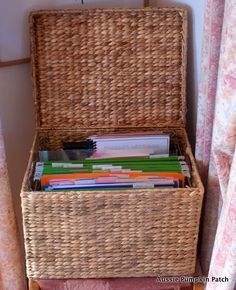 Keeping the #Homeschool Organized by Kendra at @Aussie Pumpkin Patch