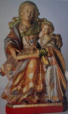 Santa, Statue, Painting, Painting Art, Paintings, Painted Canvas, Sculptures, Drawings, Sculpture