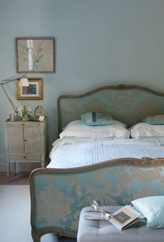 Calming Duck Egg Blue Bedroom Of Dreams