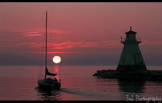 Southampton, Ontario, Canada. The best sunsets on lake Huron......Facebook(paula bell photography)