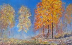 PERFECT DAY, original painting by Emilia Milcheva, 85x50cm
