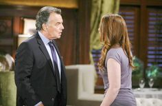 What's going on between these two? Ian Ward, Ray Wise, Young And The Restless, What Goes On, Fictional Characters, Fantasy Characters