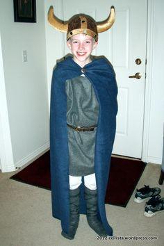 Easy Viking costume