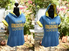 I am Sherlocked t-shirt Hoodie short sleeve lightweight hoodie Gold version Sock Leggings, Tight Leggings, Tights, Summer Is Coming, Inspirational Gifts, Pjs, Sherlock, Fandoms, Hoodies
