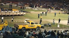 Anaheim+Stadium+%2784+or+%2785 Bed Storage, Storage Chest, Truck Pulls, Tractor Pulling, Free Stock Photos, Tractors, Old School, Monster Trucks, Classic