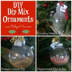 DIY Dip Mix Ornaments I have had a crazy week and a half with a doggie that is in a terrible amount of pain. I had so many things planned that never got posted. Ugh! Life does that sometimes. It gets in the way of blogging. One thing I have learned over the past two years of blogging, is that no matter how much I love blogging and sharing ideas with all of you, my LIFE has to come first.  {Read More}