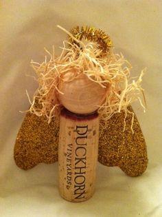 cork angel ornament