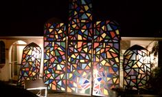 Tweet0 Pin895 Share17 +10912 Total SharesTodd Reed brings us this liturgical stage design incorporating home-made stained glass windows.