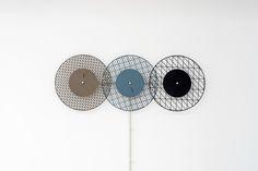 Chambers3-Christoph Brach, Graphic Time – Grid Diagonal Mute - Design Milk