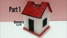 How to make beaded home tissue box/crystal work/পুতির টিস্যু বক্স /Tutor. Pony Bead Patterns, Beaded Jewelry Patterns, Beading Patterns, Beaded Crafts, Beaded Ornaments, Beading Projects, Beading Tutorials, Tissue Box Covers, Tissue Boxes