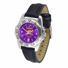 Weber State Wildcats NCAA AnoChrome Sport Ladies Watch (Leather Band) by SunTime. $53.10. Calendar Date Function. Scratch Resistant Face. Rotation Bezel/Timer. This handsome, eye-catching watch comes with a genuine leather strap. A date calendar function plus a rotating bezel/timer circles the scratch-resistant crystal. Sport the bold, colorful, high quality logo with pride. The AnoChrome dial option increases the visual impact of any watch with a stunning radi...