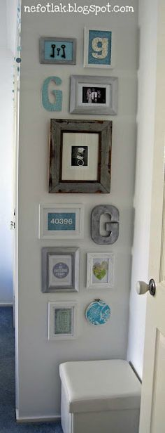 buttons art: goob's room – gallery wall details - crafts ideas - crafts for kids