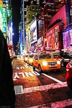 Big city lights photography colorful cars night city lights traffic