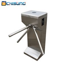 Fingerprint Access Control Turnstile for entrance and exit where need to ticket #Affiliate