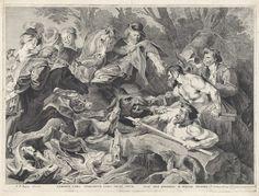 Pieter Claesz. Soutman | Jacht op wilde zwijnen, Pieter Claesz. Soutman, 1644 - 1650 |