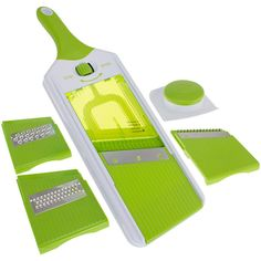 Freshware 7-in-1 Onion, Vegetable, Fruit and Cheese Chopper with Mandoline Slicer and Storage Lid, KT-406 - Google 搜索