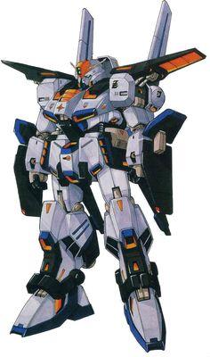 The MSZ-009 Prototype ZZ Gundam is the prototype unit of the MSZ-010 ΖΖ Gundam from the M-MSV (Kunio Okawara's MS Collection) design series.
