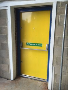 Our RSG8100 Fabricated Heavy Duty Security Exit Doors completed at retail offices in South London. & Our RSG8100 double fire exit security doors heavy duty fabricated ... Pezcame.Com