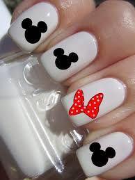 mnnie mickey nails