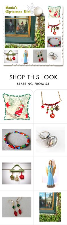 """""""❅ Merry Christmas ❅"""" by oxysfinecrafts ❤ liked on Polyvore"""