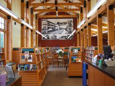 Reuse and Restoration: The Corvallis-Benton County (Oreg.) Public Library, Monroe Community Library is part of the last remaining freight depot in Benton County. The library was constructed as an addition to the depot itself, which was restored and housed meeting facilities. The building is a perfect match of old and new: Historical features were preserved, while solar and geothermal energy sources were added. Adaptive Reuse; Broadleaf Architecture; Photo: Corvallis-Benton County Public…