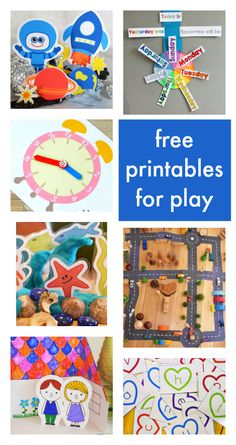 Fantastic free printables for kids activities