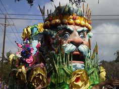 Mardi Gras float -