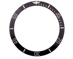 Bezels and Inserts 57714: Black And White Ceramic Bezel Insert Fits Rolex Submariner 16800, 16610, 16808 -> BUY IT NOW ONLY: $55.99 on eBay!
