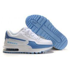 buy popular ad741 5fcf7 Enfant Nike Air Max LTD Blanc Bleu88,98€ Nike Air Max Trainers,