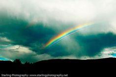 "Amazing Sky!  ""Rainbow Skyscape Photography By jamiestarling"""