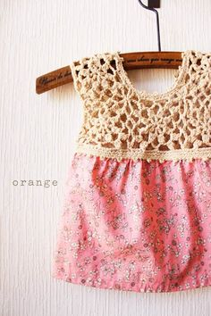 crochet kids tunic, inspiration