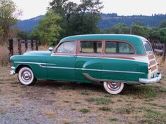 1953 Pontiac Tin Woody.