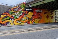 Street Art Atlanta Belt line 2016!02