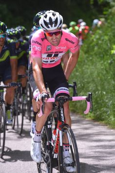 100th Tour of Italy 2017 / Stage 11  Tom DUMOULIN Pink Leader Jersey /  Firenze Bagno Di Romagna 490m / Giro /