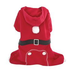 FouFou Dog Santa's 'Lil Helper PJ, X-Large ** Don't get left behind, see this great dog product : Costumes for dog