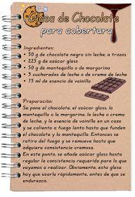 Tartas, Galletas Decoradas y Cupcakes: Glasa de Chocolate para cobertura