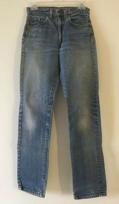 ff5dbb950b6 Blue Denim Jeans Size 28x32 (tag) 27x30 1/2 (meas) Red Tag #fashion # clothing #shoes #accessories #mensclothing #jeans (ebay link)